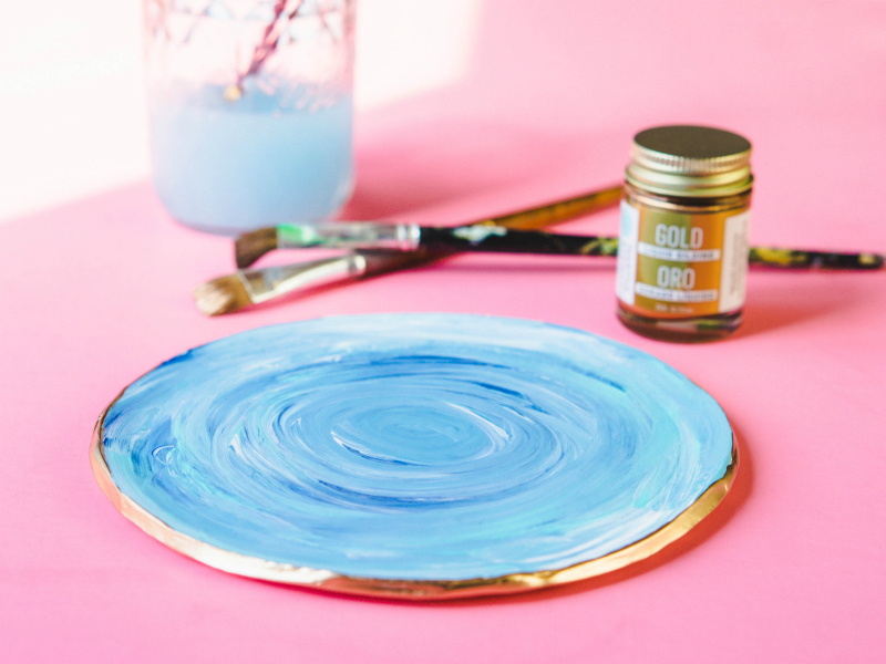 Easy Mermaid Ring Dish DIY