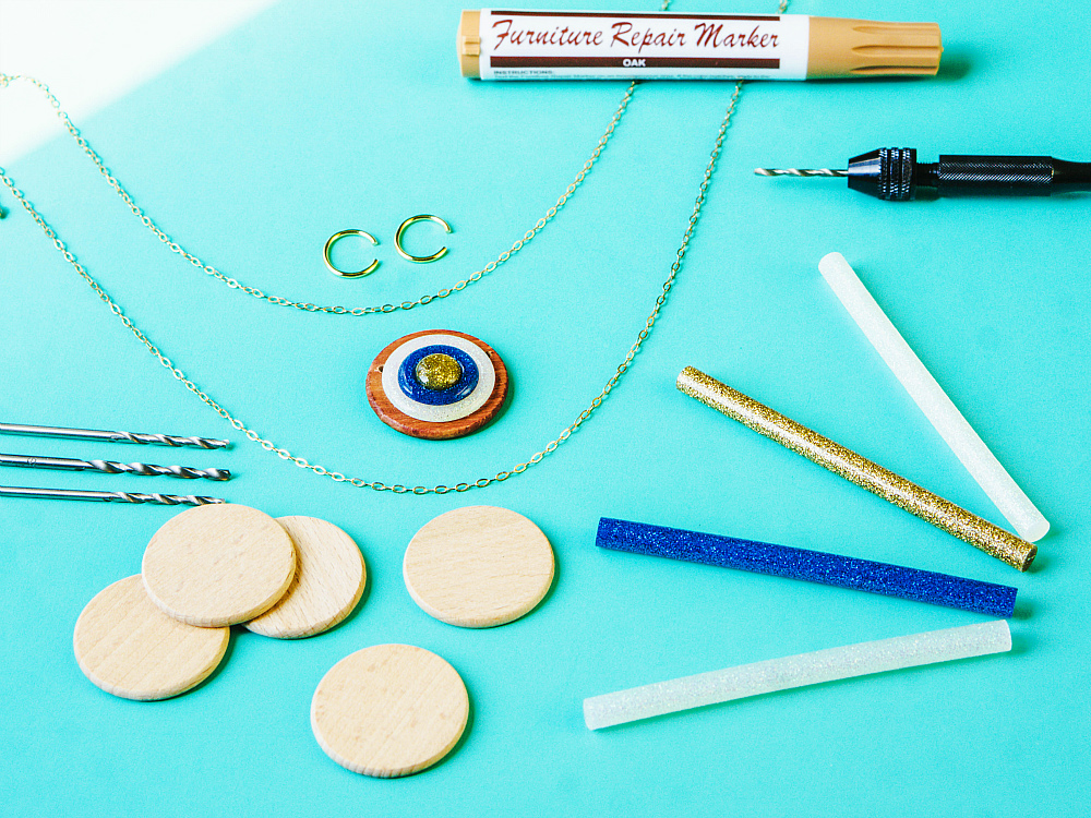 Easy Evil Eye Talisman DIY at the Studio