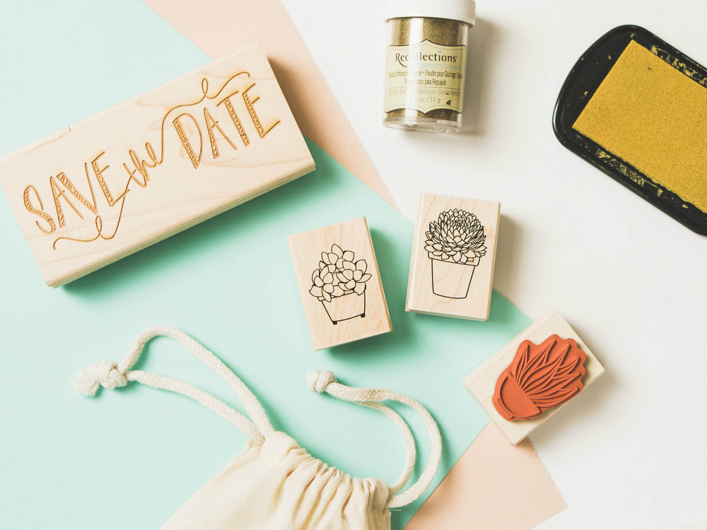 Embossed Invites or Save the Dates - Easy Project