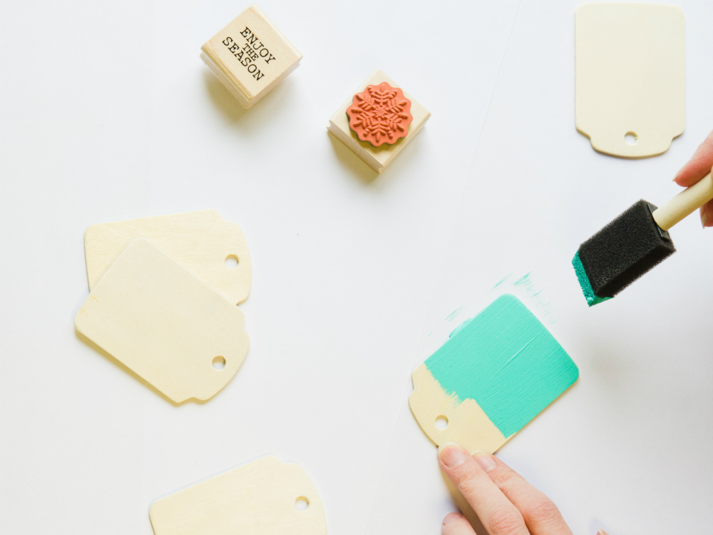 Make Your Own (Fancy) Holiday Gift Tags | The Studio Blog at Adhesive Tech