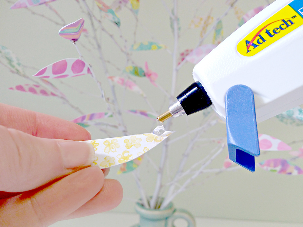 Spring Tree - AdTech hot glue