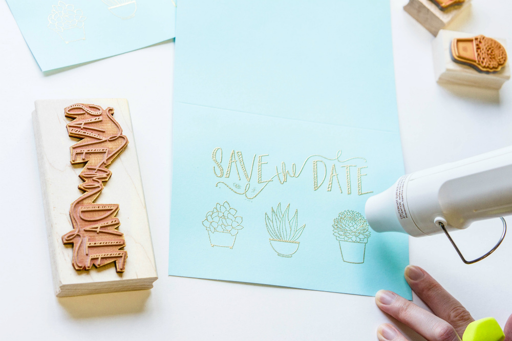 Save the Date Cards with Adhesive Technologies