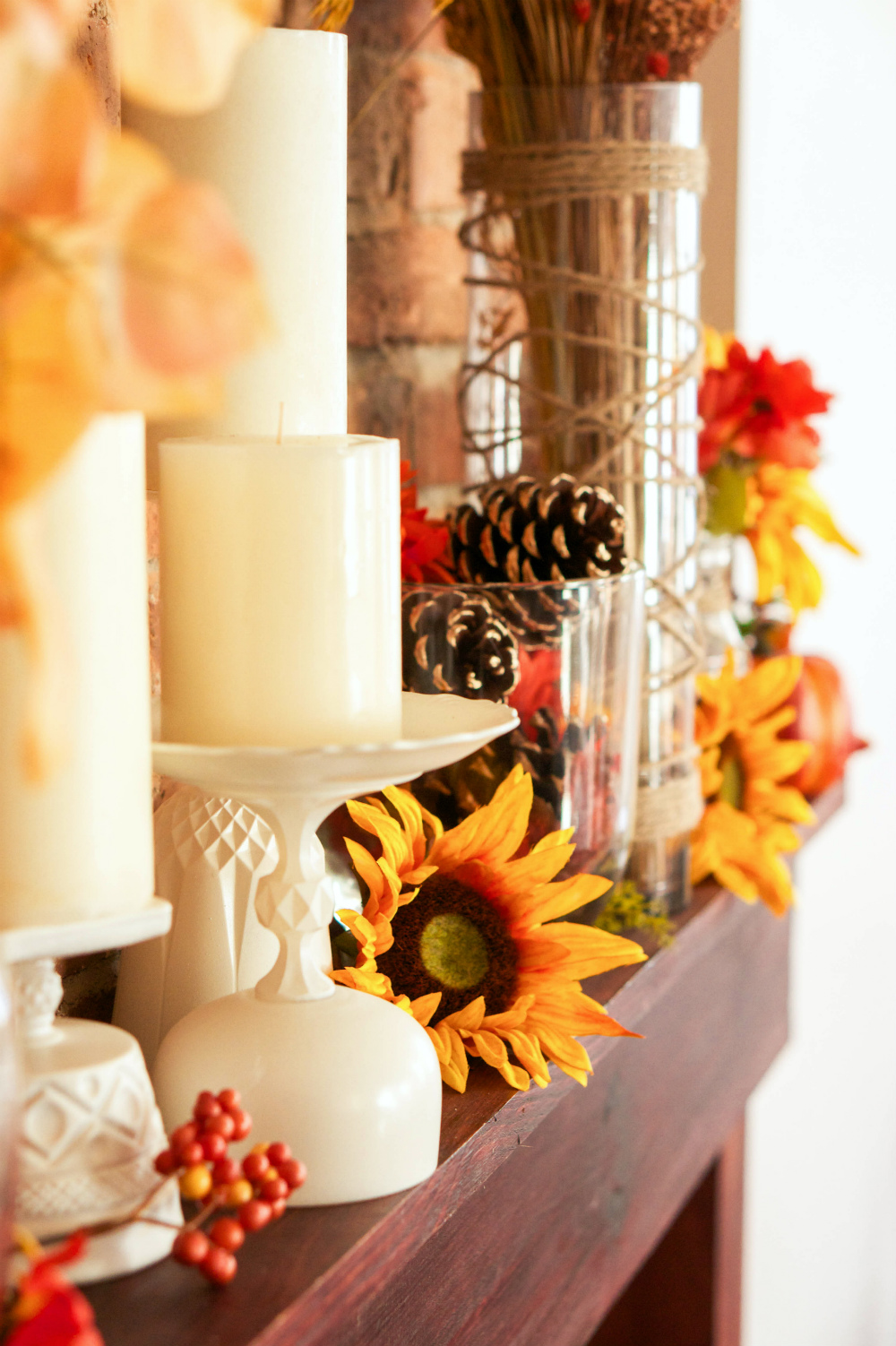How to Decorate Your Mantle for Autumn | Adhesive Technologies