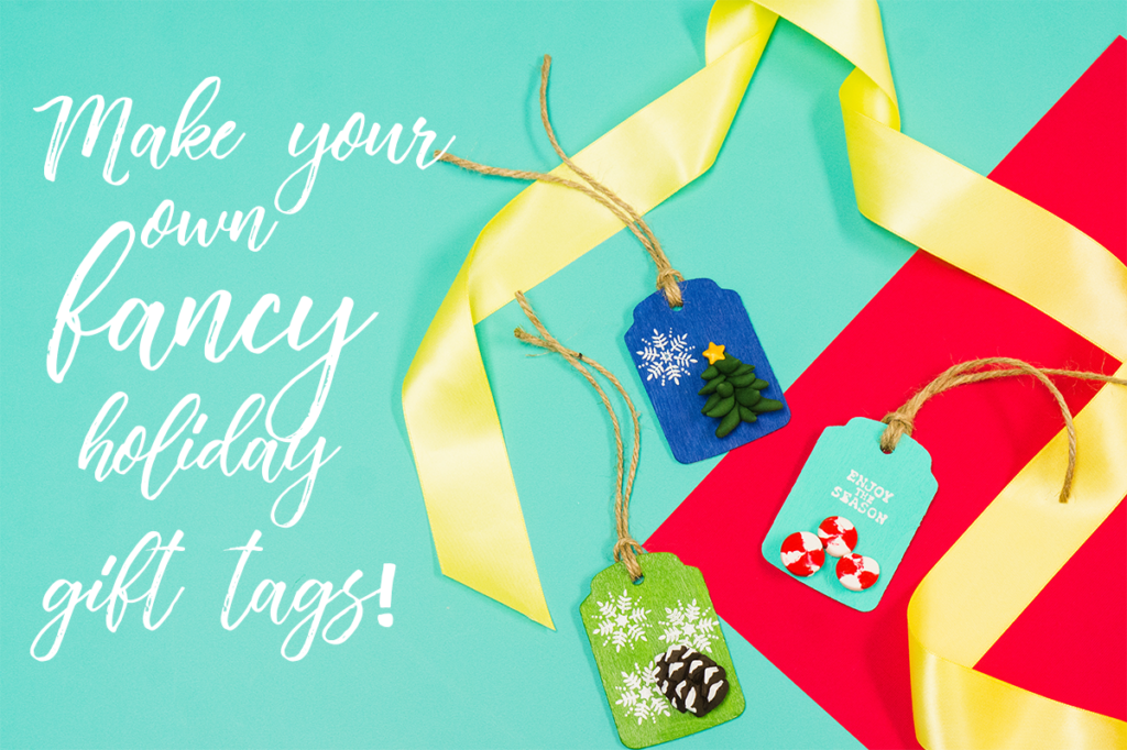 Make Your Own (Fancy) Holiday Gift Tags! | The Studio Blog at Adhesive Technologies