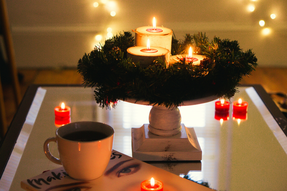 Christmas Candle Centerpiece DIY | AdTech Studio Blog